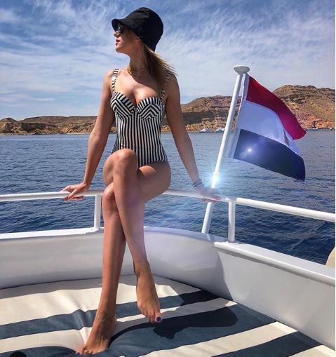 Леся Нікітюк відпочиває в Єгипті / фото instagram.com/lesia_nikituk