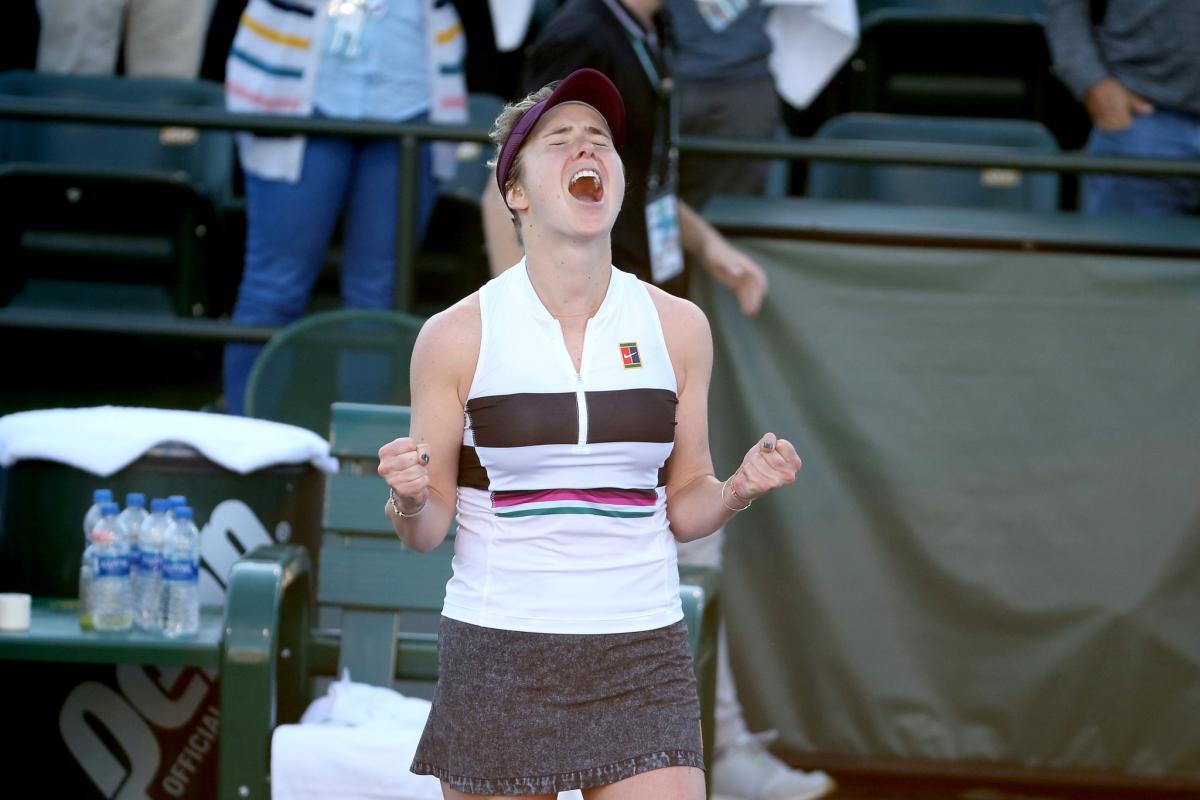 Элина Свитолина остановилась в шаге от финала на турнире в Индиан-Уэллс / twitter.com/bnpparibasopen