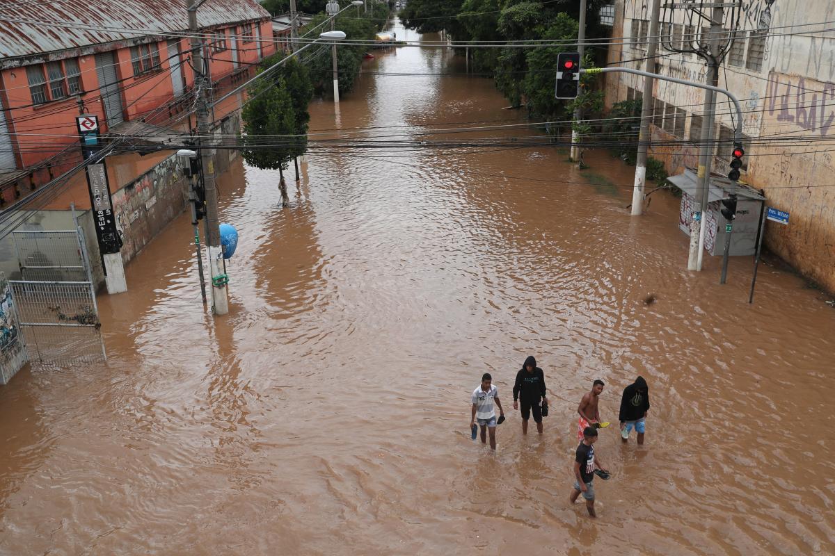 Повінь у Бразилії / REUTERS