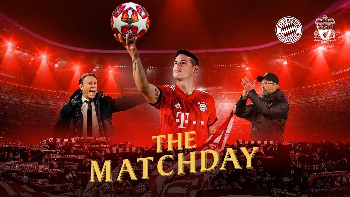 Бавария примет Ливерпуль в матче за выход в четвертьфинал Лиги чемпионов / twitter.com/fcbayern