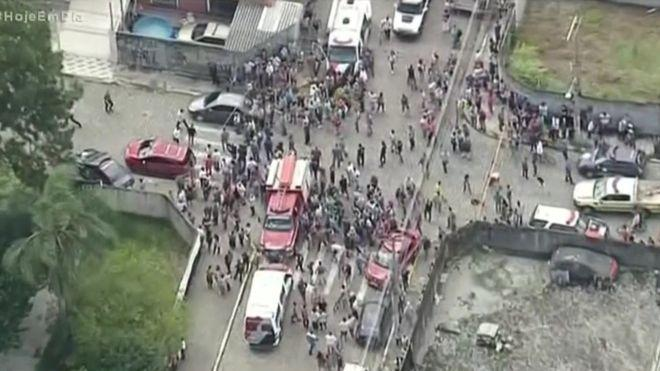 At least 8 people killed in a school shooting in Brazil
