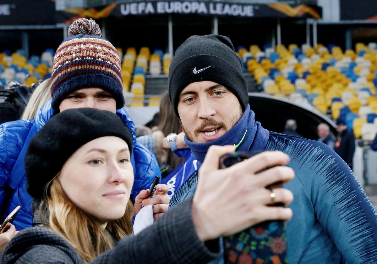 """""""Челси"""" провел тренировку на НСК """"Олимпийский"""" / REUTERS"""