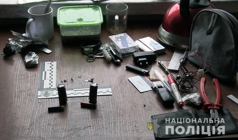 У Києві чоловік загинув, підірвавшись на гранаті / фото kyiv.npu.gov.ua