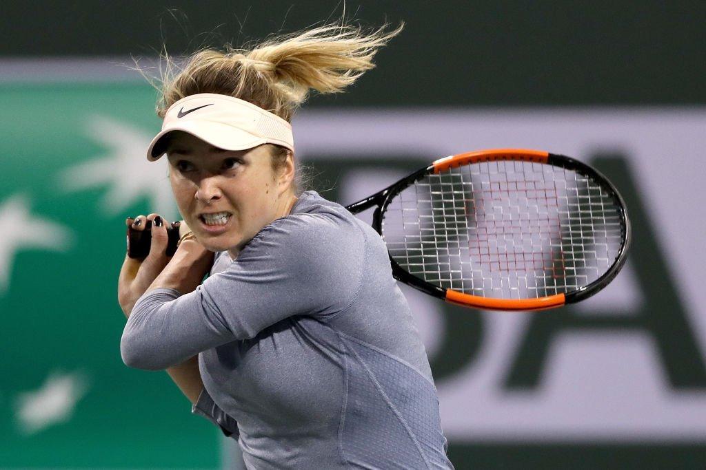 Еліна Світоліна програла у першому матчі на турнірі / фото: твіттер WTA