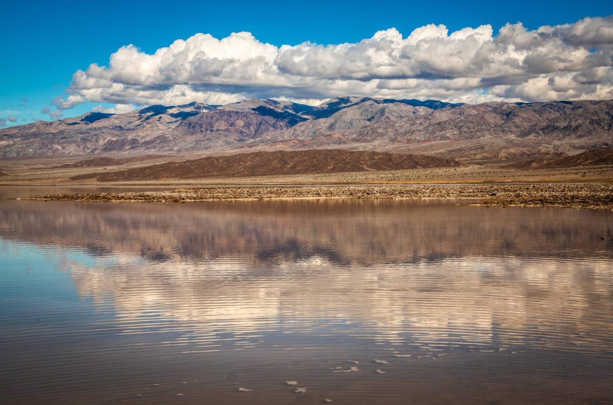 Озеро в Долине Смерти / www.facebook.com/mcgucken
