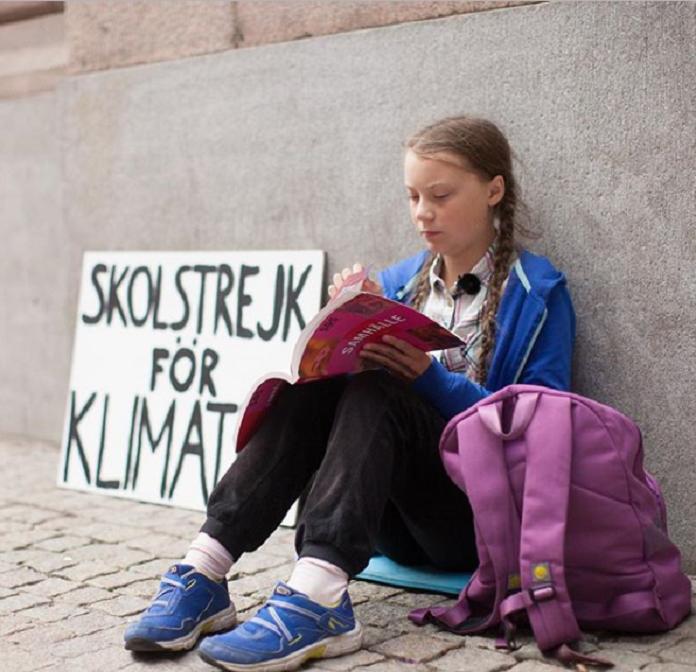 Грету Тунберг номінували на Нобелівську премію миру / фото instagram.com/gretathunberg/