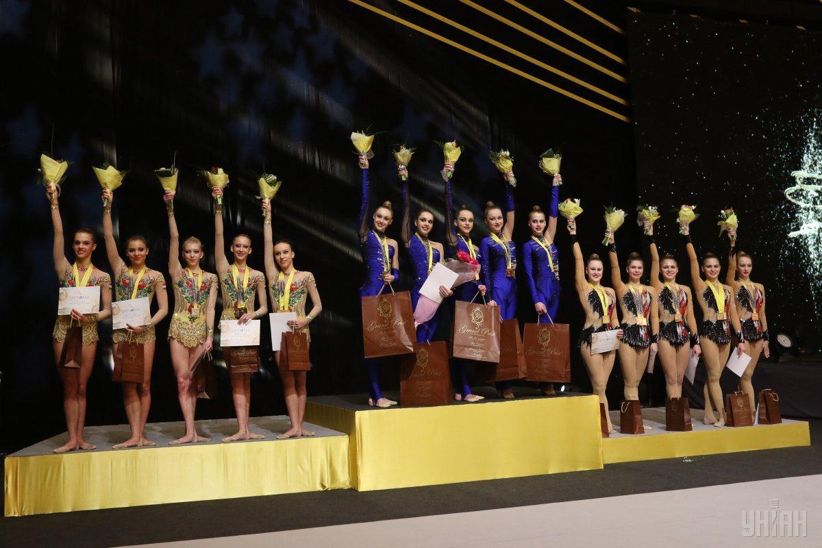 Кубок Дерюгиной является одним из главных ежегодных турниров в мире по художественной гимнастике / Иллюстрация УНИАН
