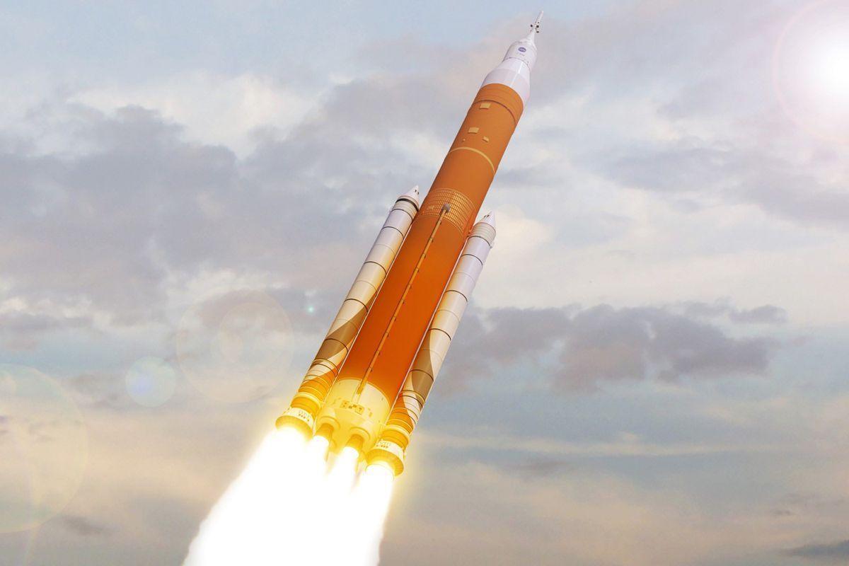 Запуск ракеты рассматривали в качестве важной части программы по созданию пилотируемого космического корабля «Орион»/ фото Naked Science