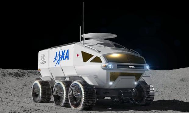 В ровере для Лунысмогут ездить до четырех человек / Toyota