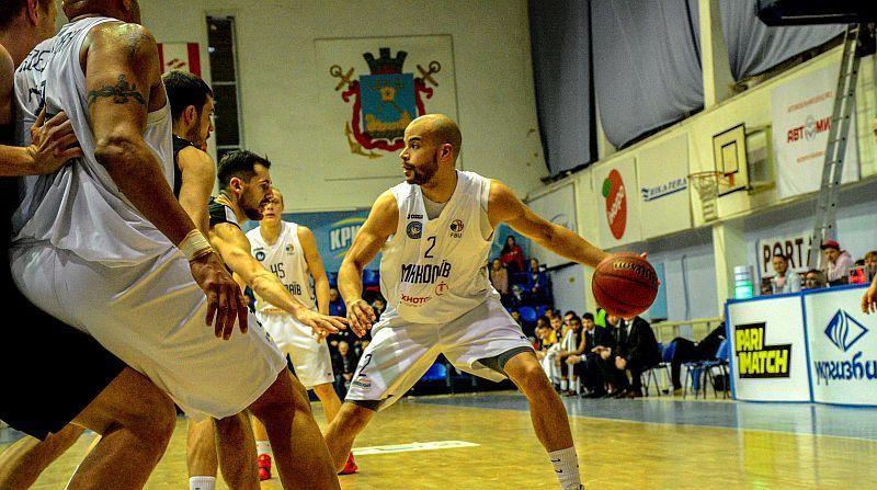 Миколаїв обіграв столичних баскетболістів з мінімальним рахунком и в напруженій боротьбі / fbu.ua