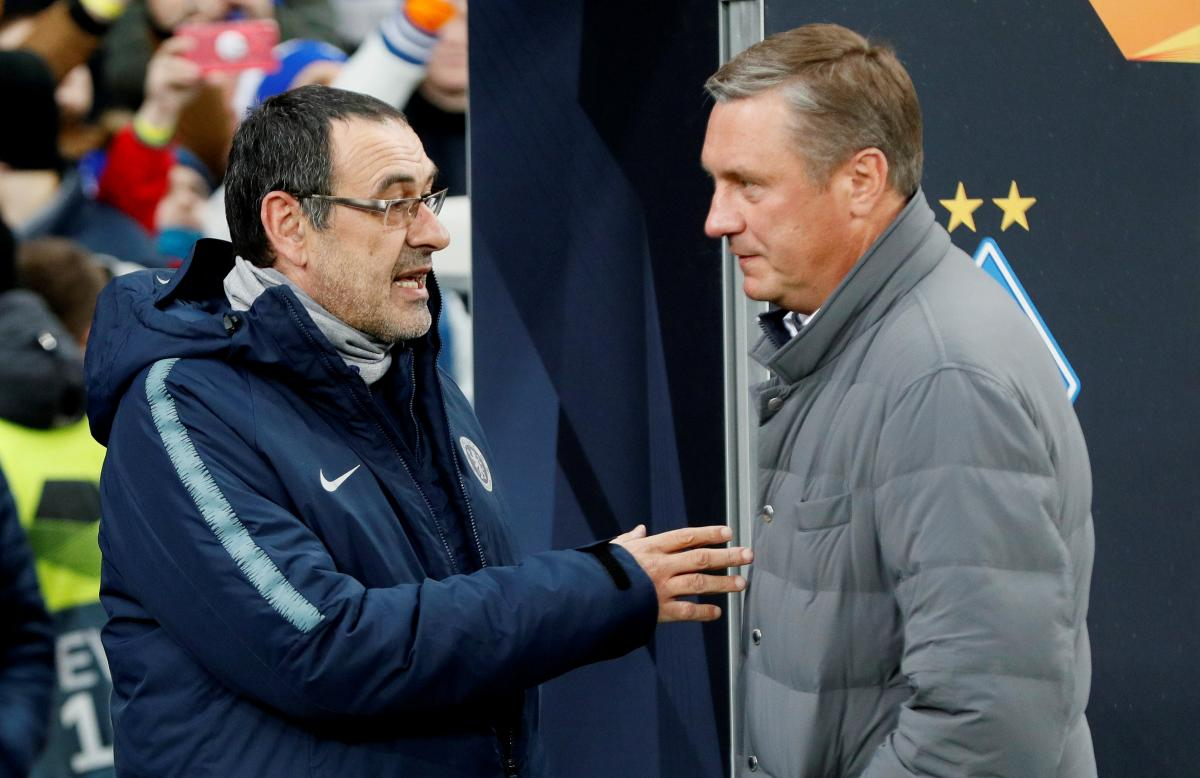 Саррі повністю переграв свого візаві Хацкевича за сумою двох матчів / Reuters