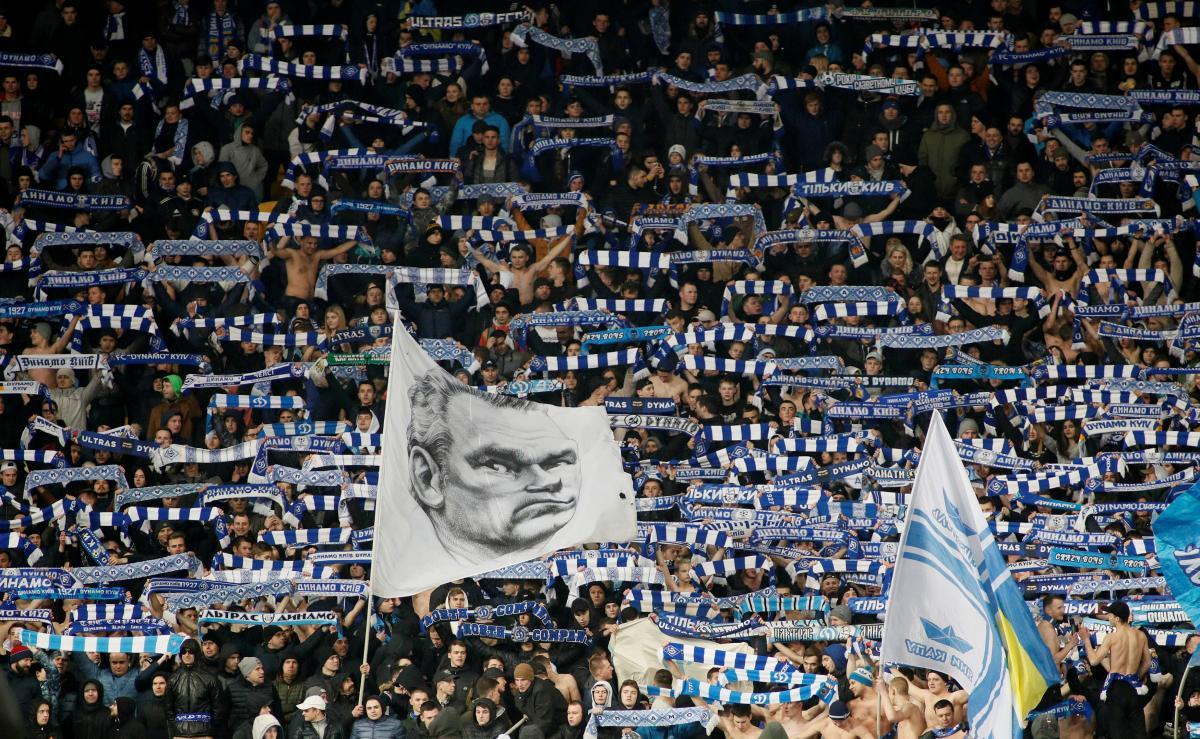 Болельщики Динамо установили рекорд посещаемости на матче Лиги Европы / Reuters