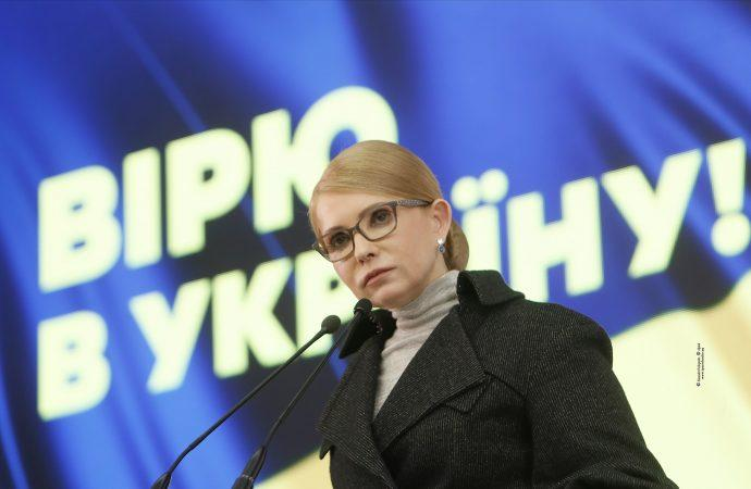 Перше місце – Юлія Тимошенко з 31,68% голосів/ photo Alexander Prokopenko