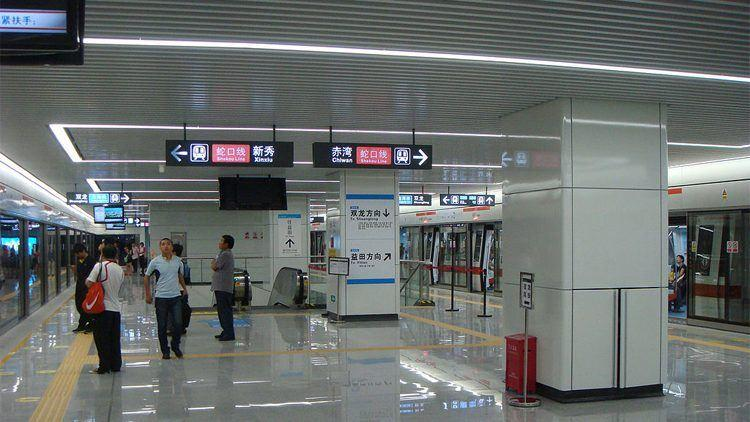 Китай приспособил технологию распознавания лиц для оплаты проезда в метро / Photo credit: DeBit via Wikipedia