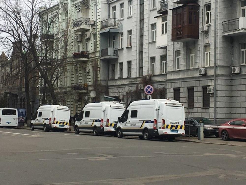 В центр Киева стянули правоохранителей / фото Информатор