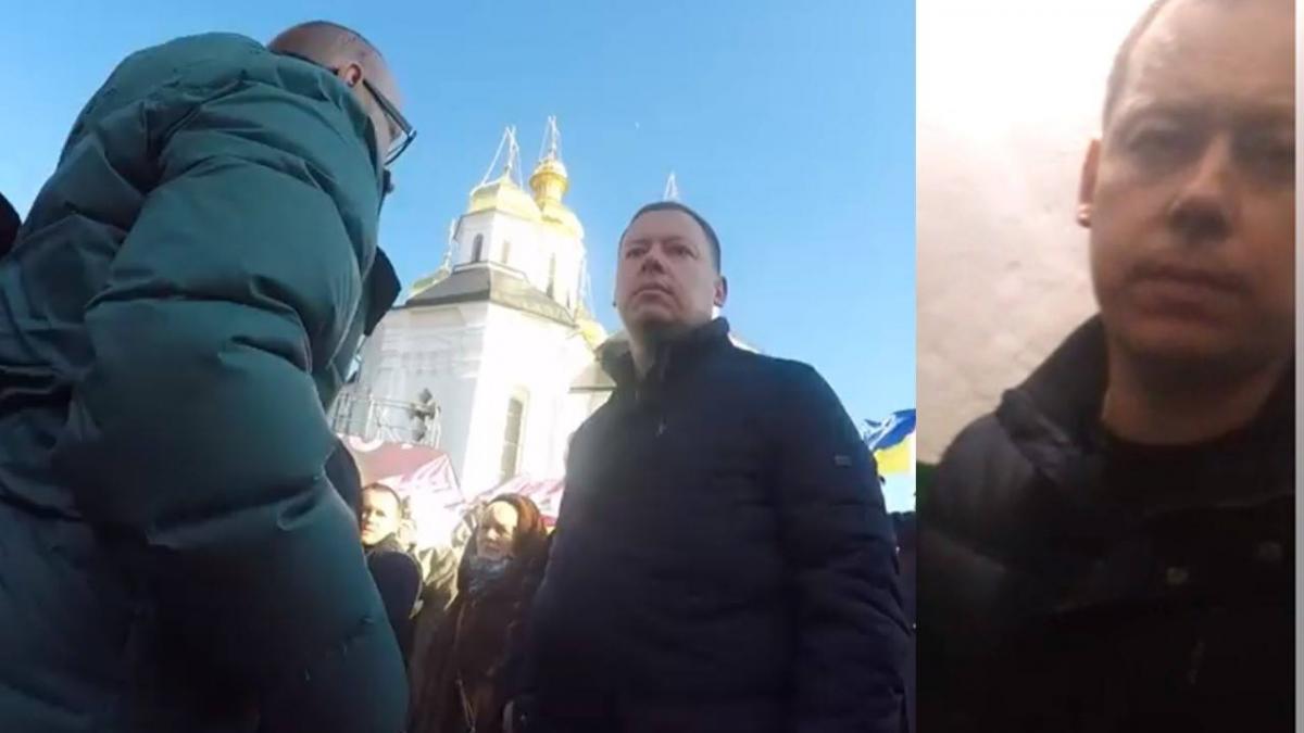 Журналіст розповів, як вдалося зафіксувати обличчя Кутового \ Фейсбук Євген Куксін