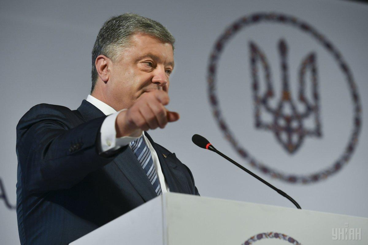 Порошенко заверяет в полной поддержке посла США в Украине Йованович / фото УНИАН