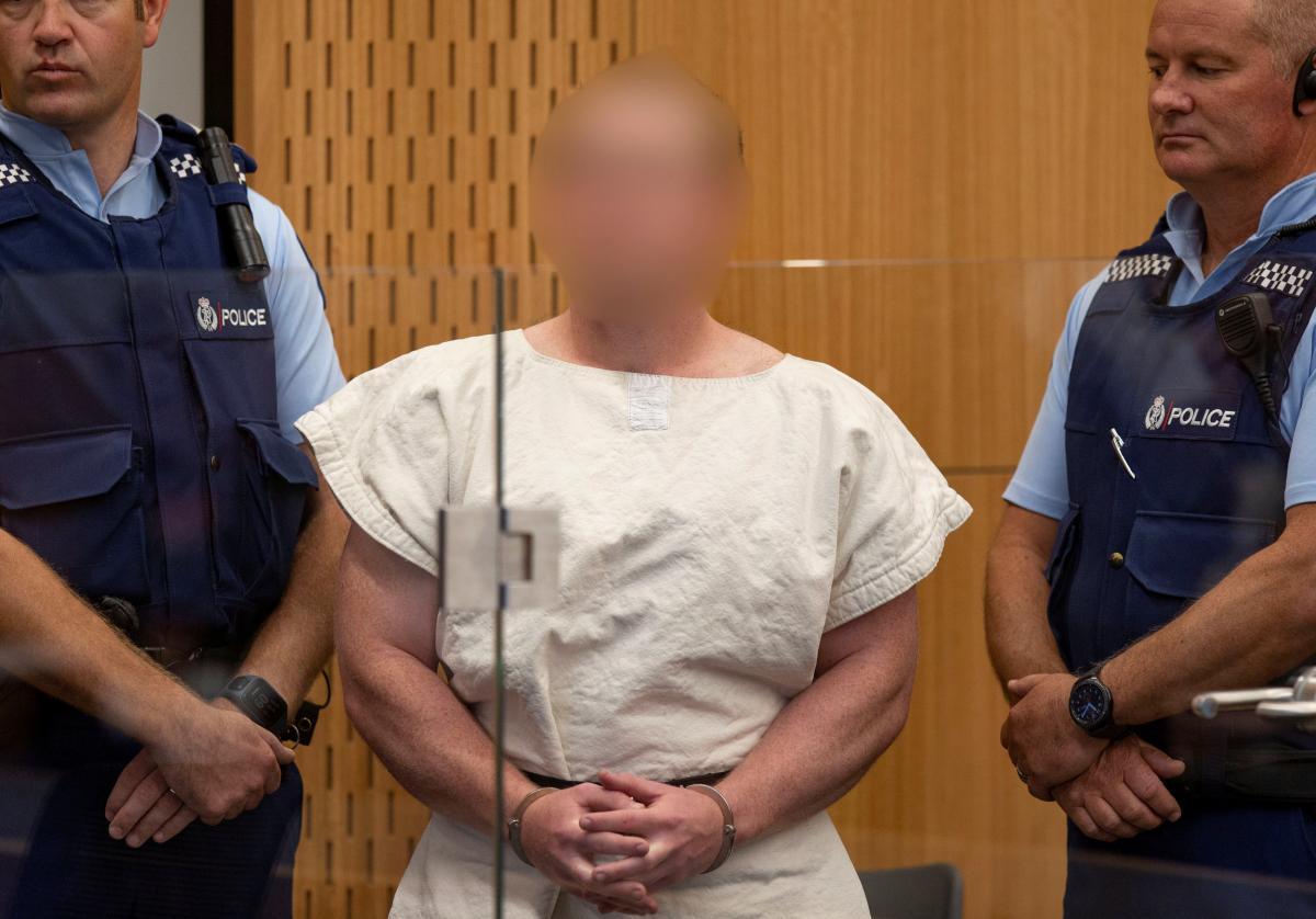 """Підозрюваний у тероризмі Брентон Таррант розіслав свій """"маніфест"""" політикам перед атакою в Крайстчерчі / REUTERS"""