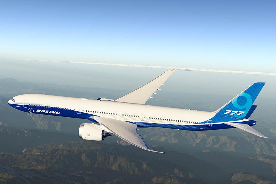 Самолет снабдилисамыми большими авиационными двигателями в мире / Boeing.com