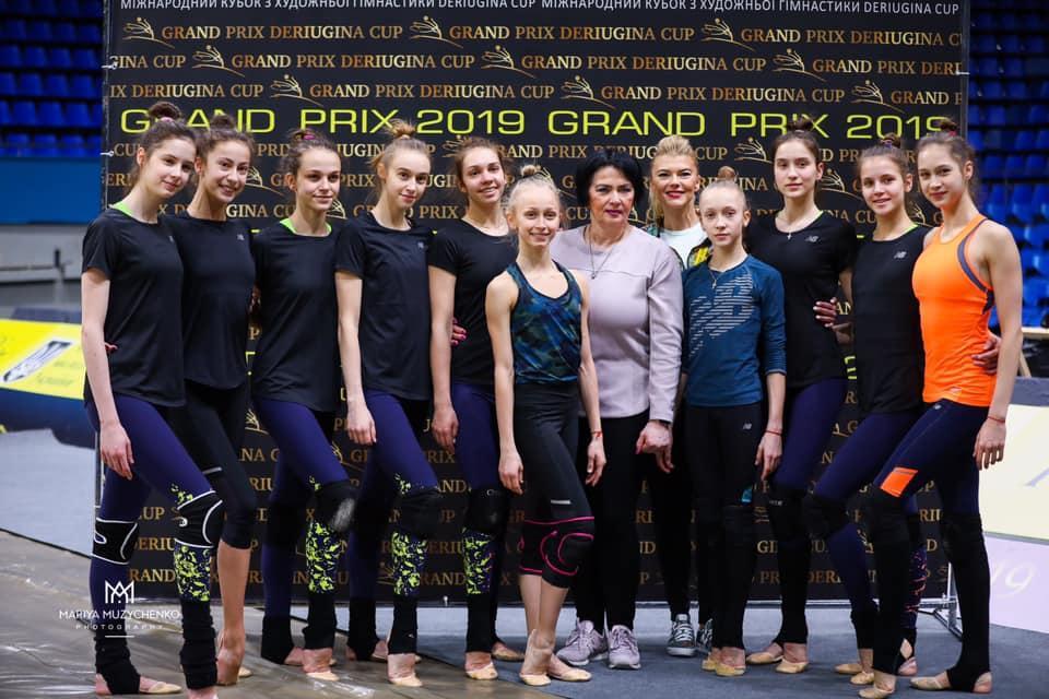 Збірна України з художньої гімнастики / facebook.com