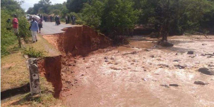 На Зімбабве насунувся тропічний циклон Ідай / фото zbc.co.zw