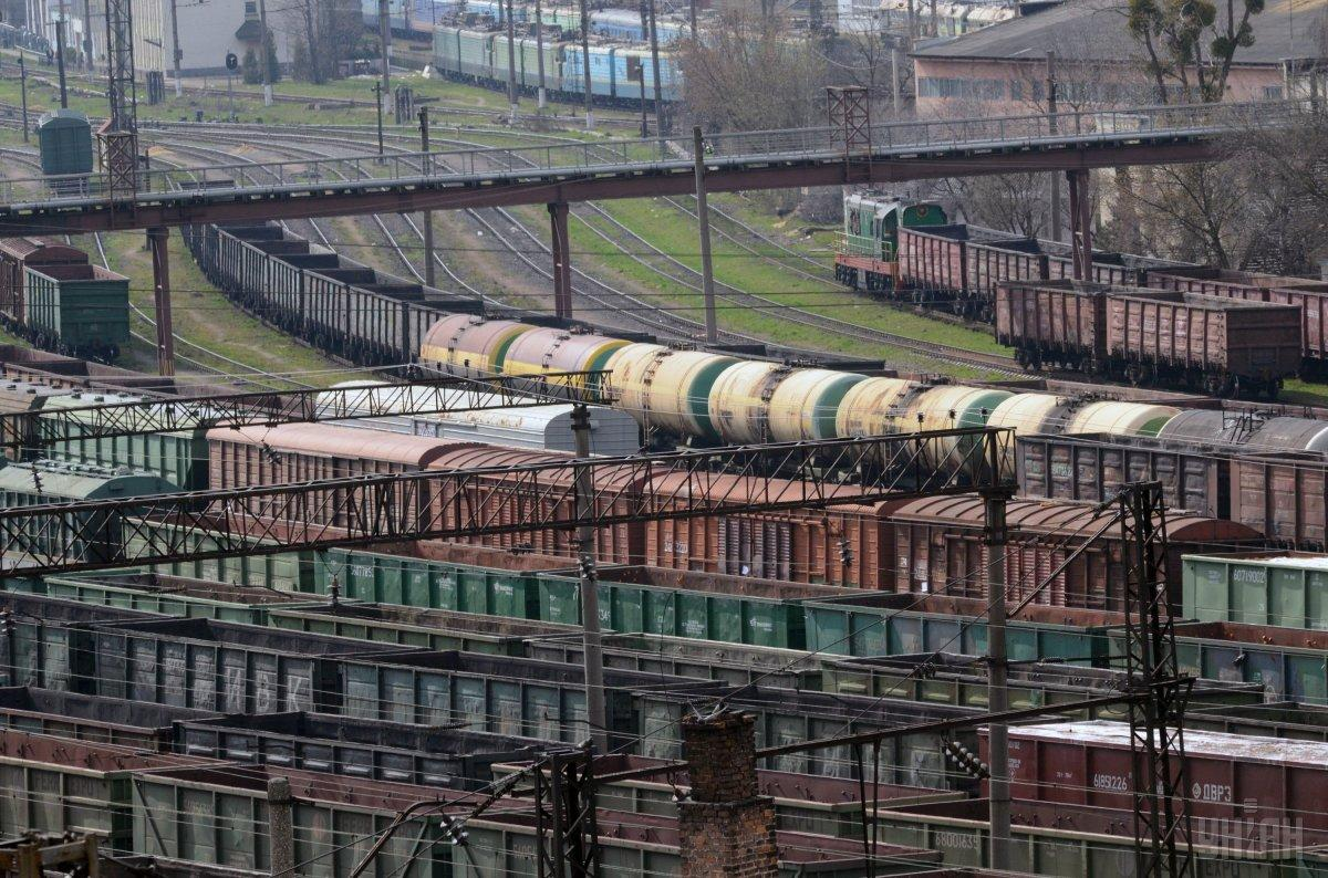 """В структуре доходов """"Укрзализныци"""" грузовые перевозки занимают 88% / фото УНИАН"""