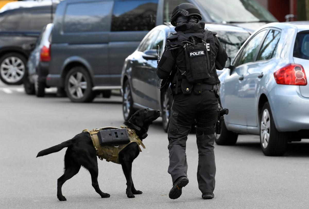 Полиция в Утрехте / REUTERS