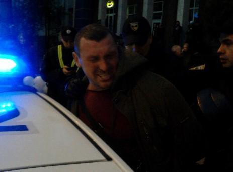 Визит Порошенко в Ривне не обошелся без эксцессов / фото УНИАН