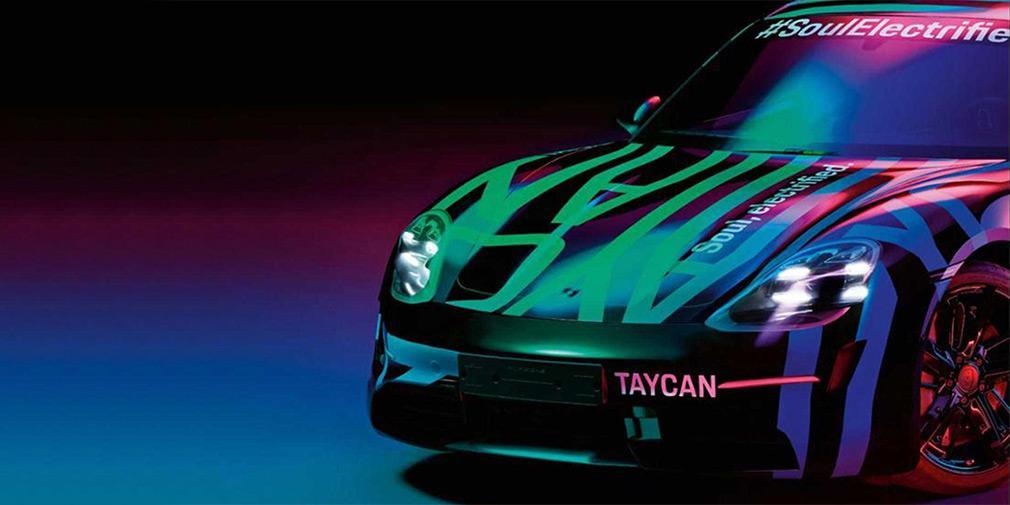Немецкая компания опубликовала первые фотосвоей новой модели Taycan / фото Porsche