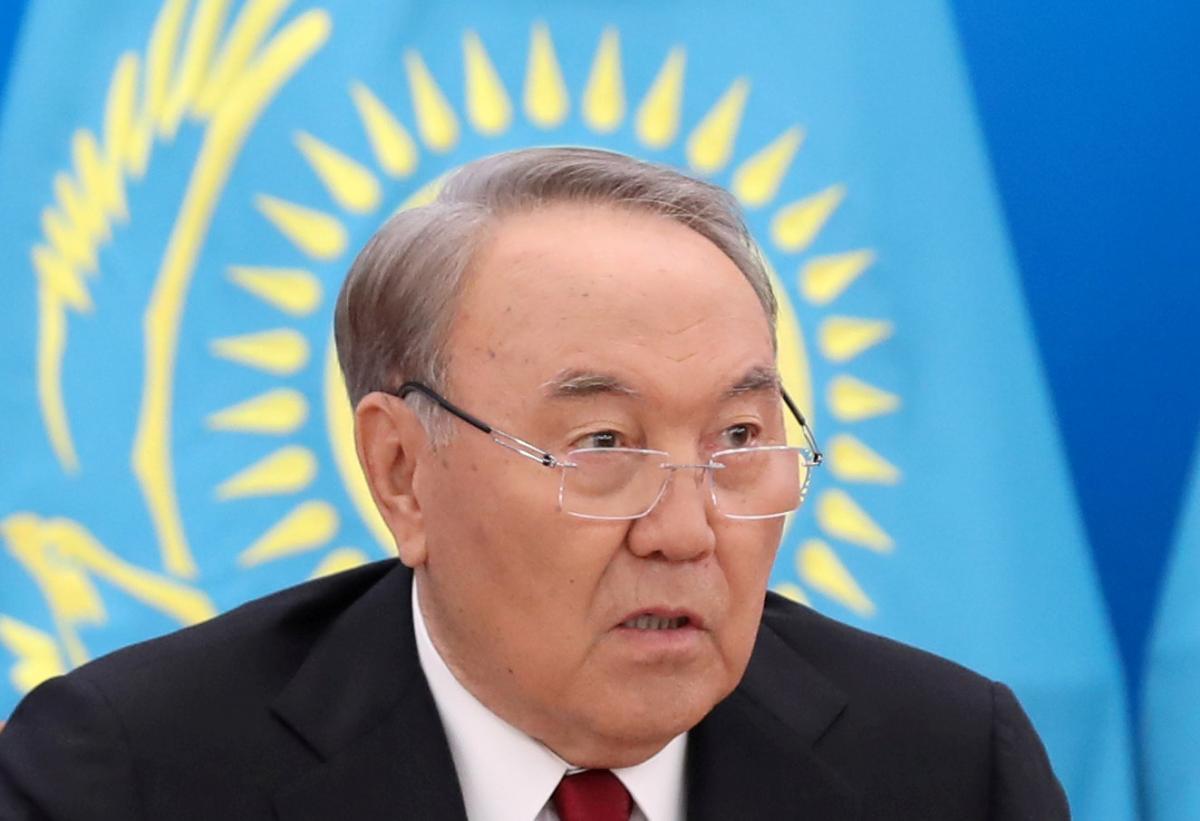 Nursultan Nazarbayev / REUTERS