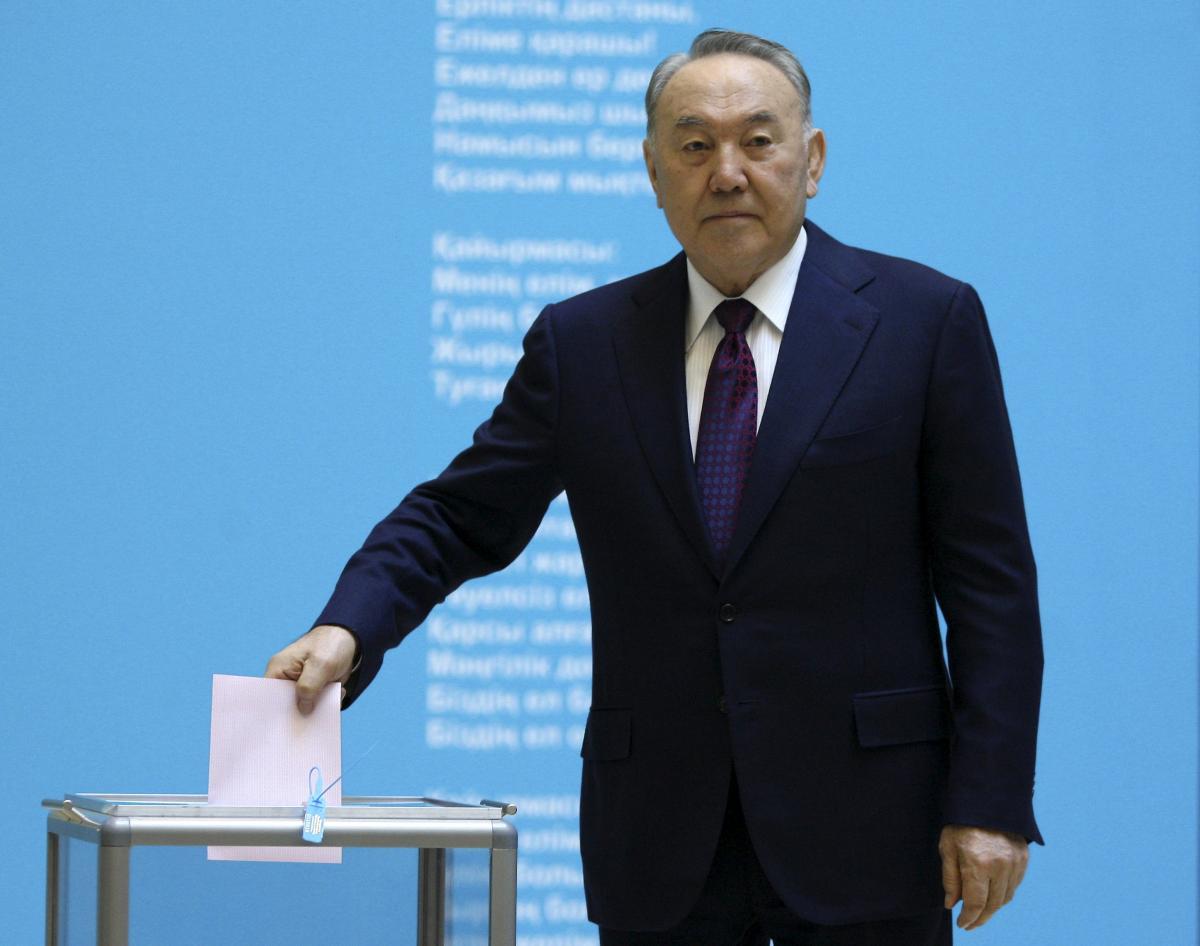 Нурсултан Назарбаев / REUTERS