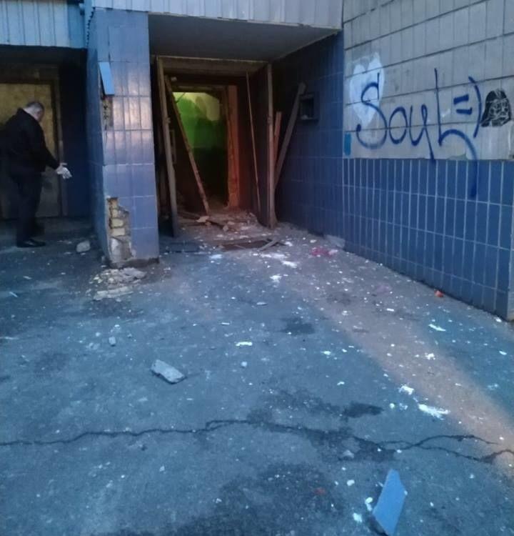 В Киеве в многоэтажке в Днепровском районе произошел взрыв / фото kiev.informator.ua
