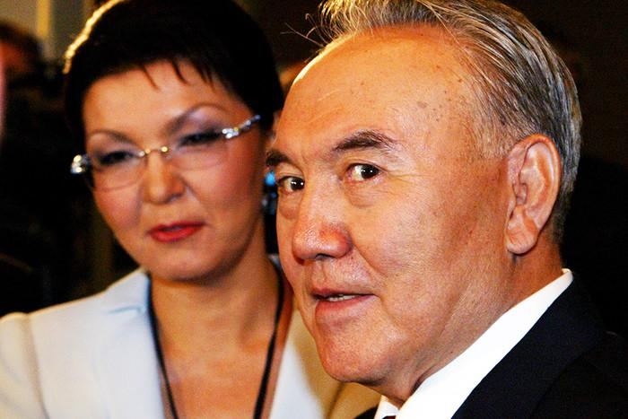 Дарига и Нурсултан Назарбаевы / REUTERS