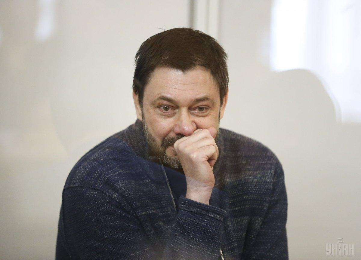 Vyshinsky is accused of treason / Photo from UNIAN
