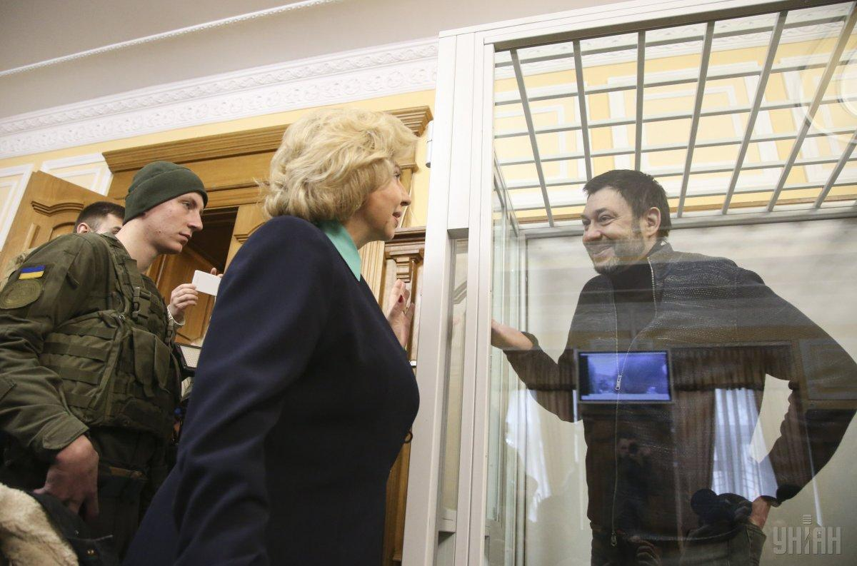 По ее словам, Вышинский сам был против обмена / фото УНИАН