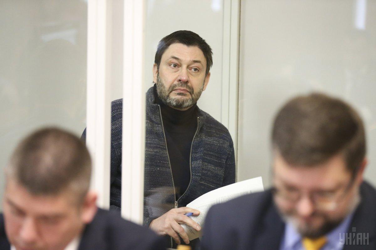 Вышинскому продлили арест до 24 мая / фото УНИАН