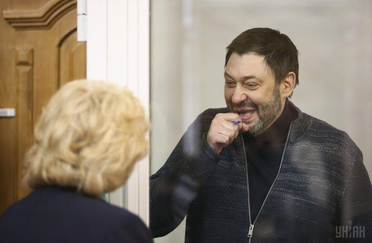 Прокурор АР Крым предположил, что Вышинский может сбежать из Украины после заседания суда 15 июля / фото УНИАН