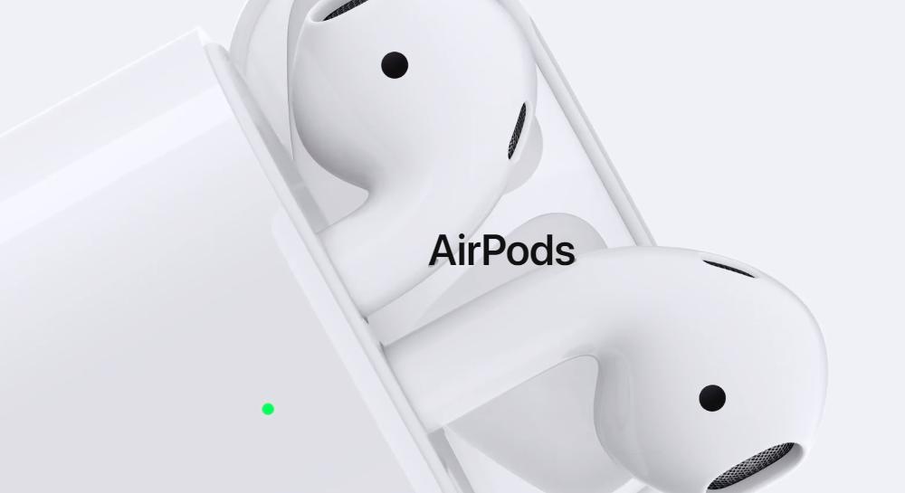 Apple представила новые Airpods