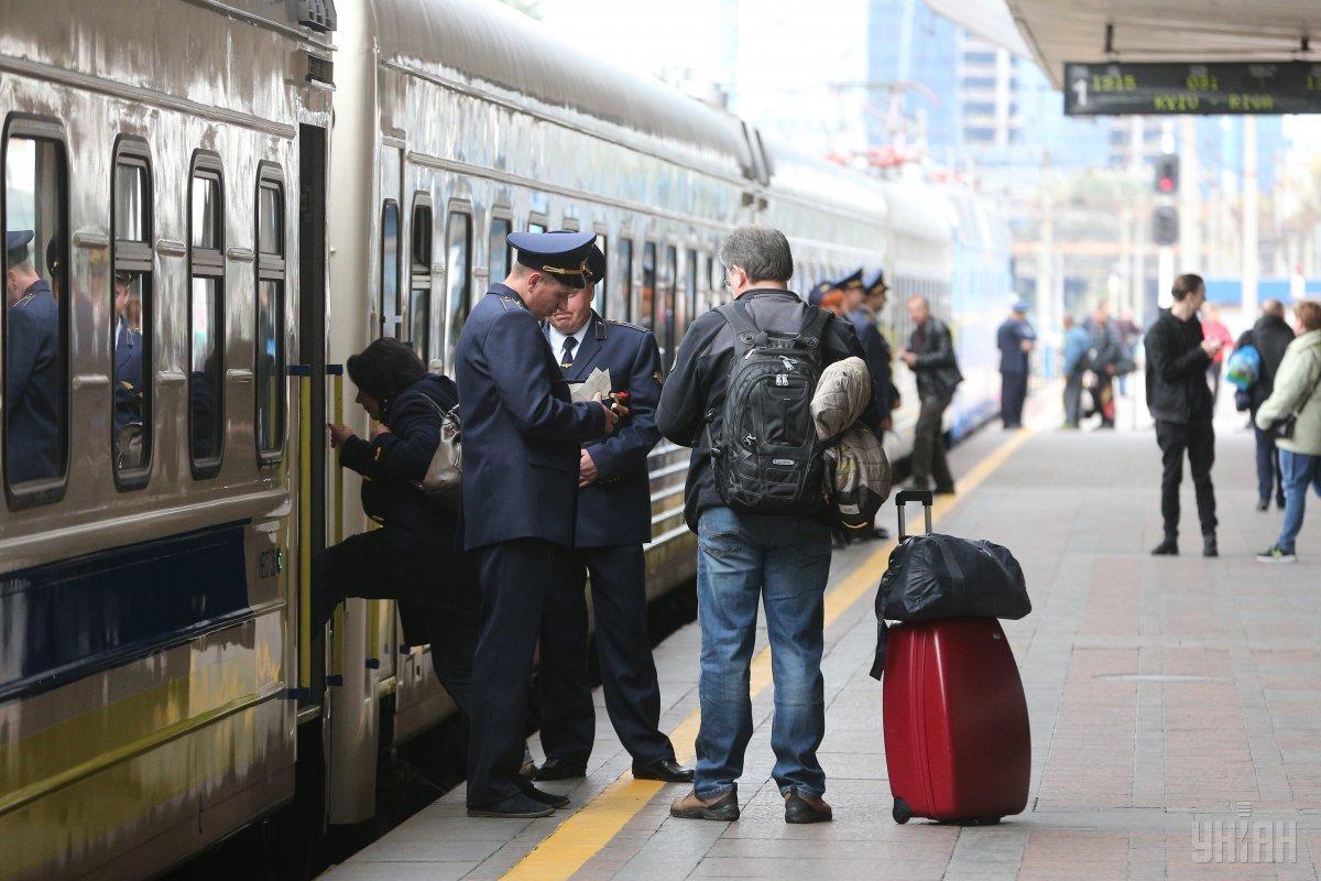 Поезда будут курсировать / фото УНИАН