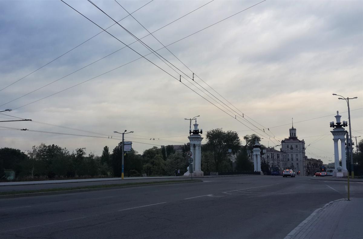 З центру Запоріжжя на Хортицю досить легко дістатися маршруткою/ Фото Марина Григоренко