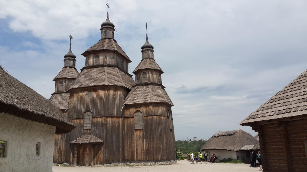 Историко-культурный комплекс«Запорожская Сечь» / Фото Марина Григоренко