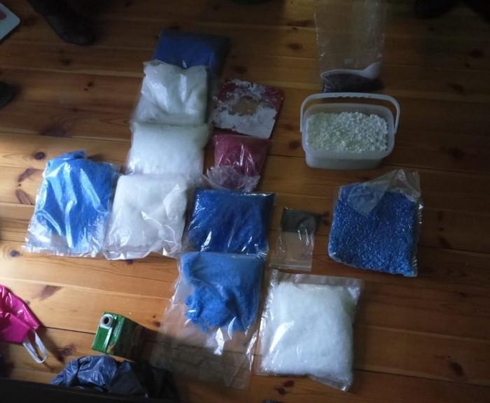 Наразі затримано трьох учасників наркоугруповання / фото: прес-служба СБУ