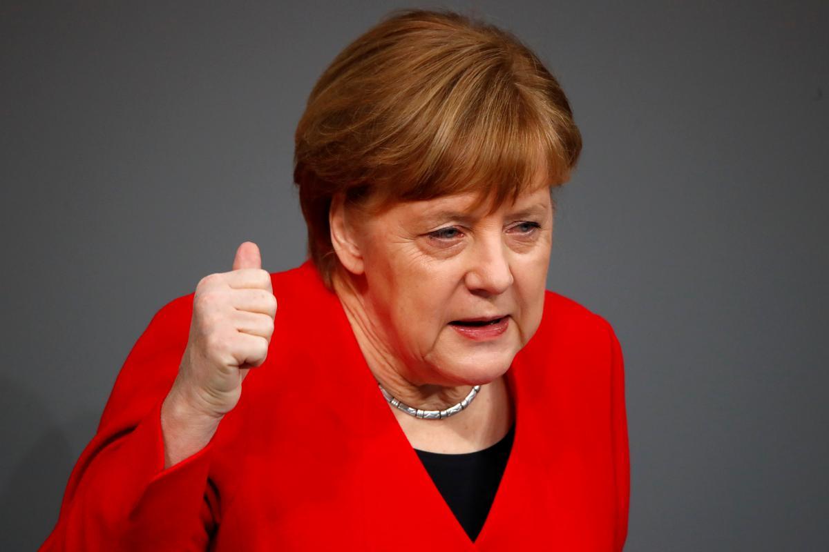 Канцлер Германии Ангела Меркель \ REUTERS