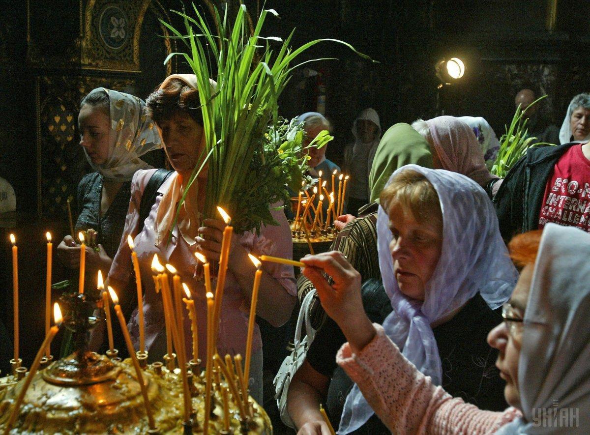 Православные готовятся отмечать Троицу/ УНІАН