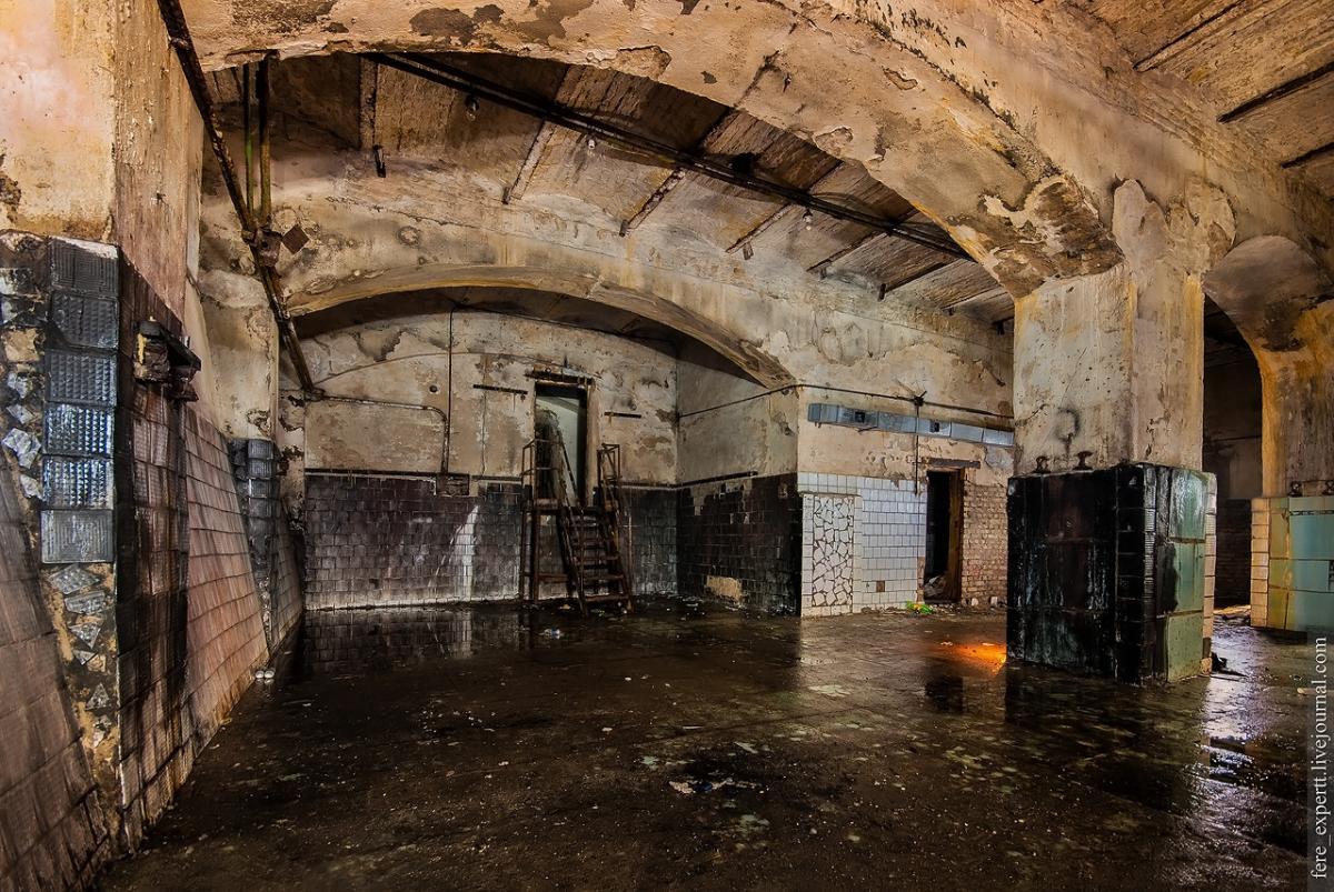 Подземное водохранилище «прячется» в самом центре Киева / Фото life.bodo.ua