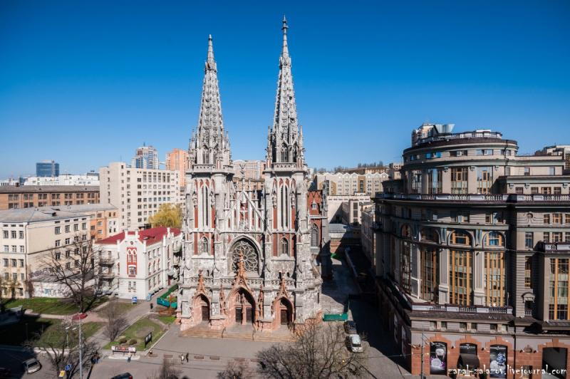 Костел Святого Николая в Киеве / Фото google.com