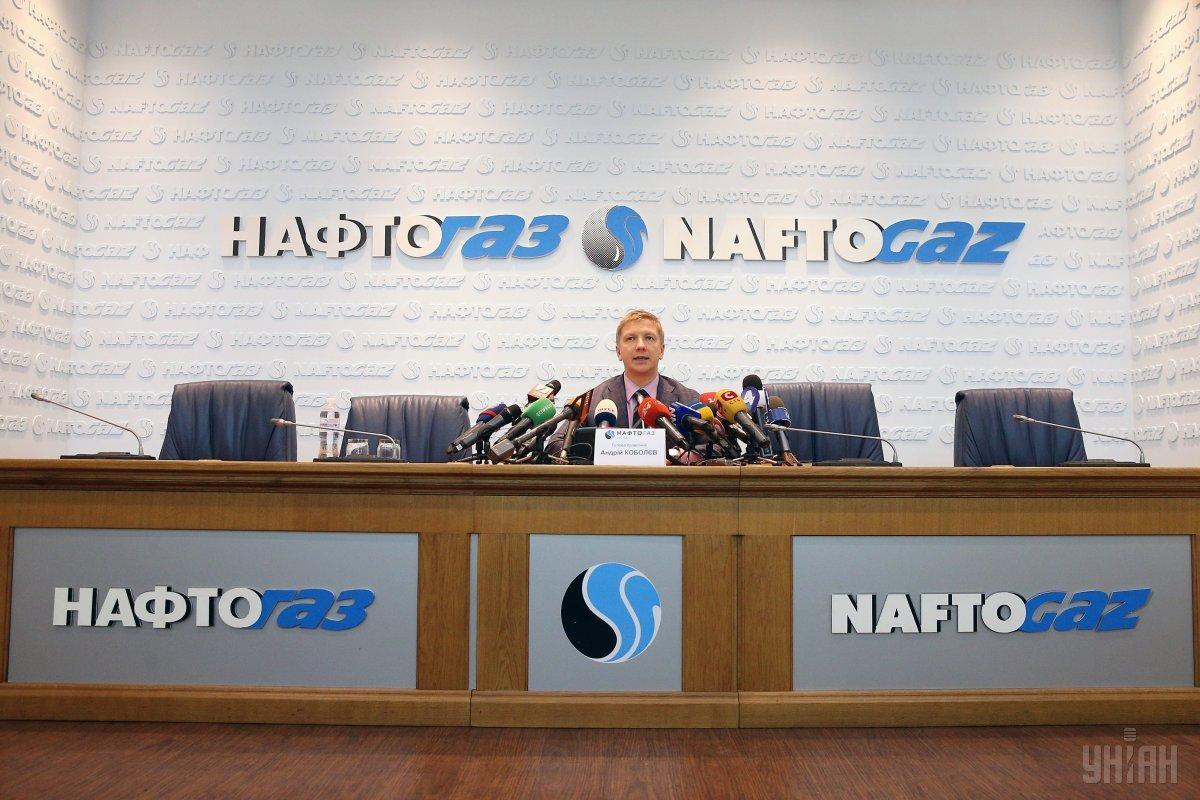 """Глава """"Нафтогаза"""" Андрей Коболев / фото УНИАН"""