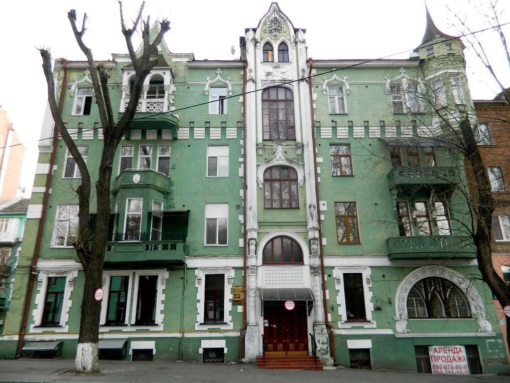 Дом с кошками в Киеве / Фото google.com.ua
