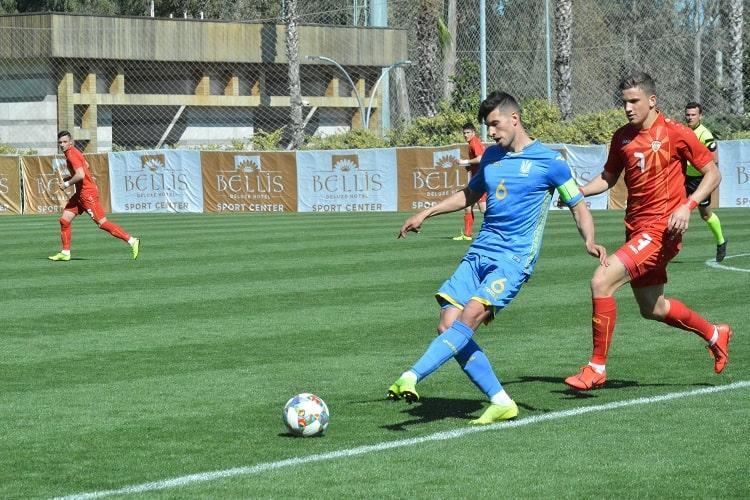 Украинская молодежка обыграла команду Македонии на турнире в турецкой Анталии / ffu.ua