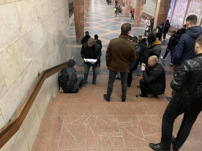СБУ предотвратила теракта на станции метро «Индустриальная» в Харькове / фото ssu.gov.ua